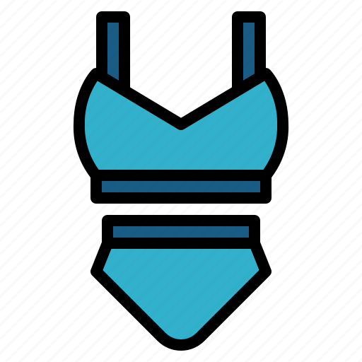 piece, sexy, suit, summer, swimming, two icon