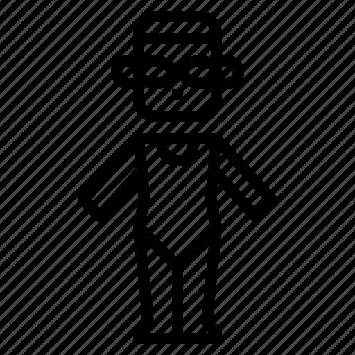 suit, swim, swimmer, woman icon