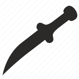 blade, cold, knife, weapon icon