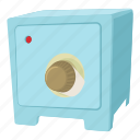 accessibility, box, cartoon, combination, lock, safe, solid icon