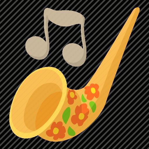 Art, cartoon, instrument, music, saxophone, trumpet icon - Download on Iconfinder