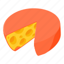 butter, cartoon, cheese, meal, milk, slice, vegetarian icon