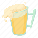 alcohol, bar, beer, cartoon, drink, mug, pub icon