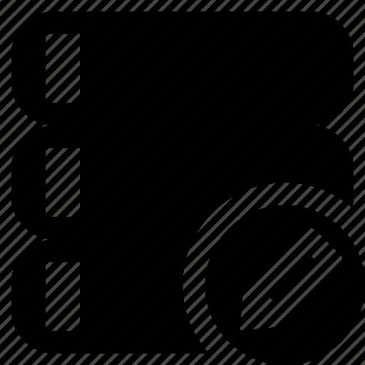 data, database, edit, server, storage icon
