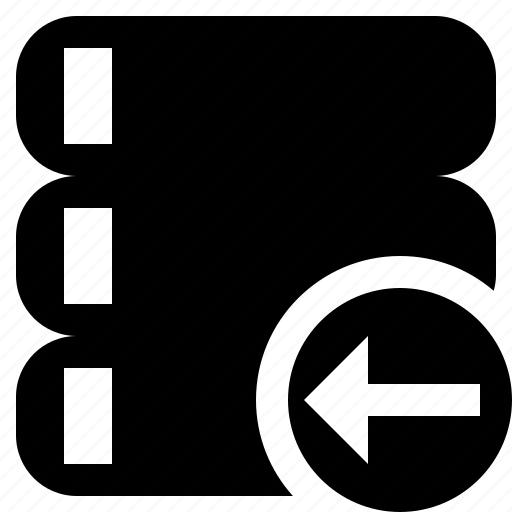 Data, database, previous, server, storage icon - Download on Iconfinder