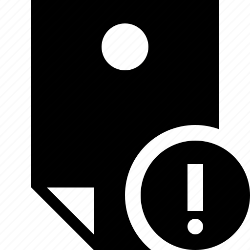 document, memo, note, pin, reminder, sticker, warning icon