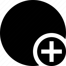 add, marker, object, pin, point, shape icon