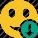 download, emoticon, emotion, face, smile