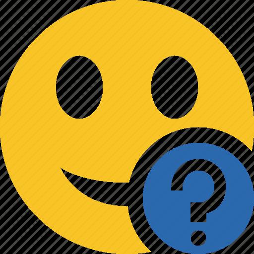 emoticon, emotion, face, help, smile icon