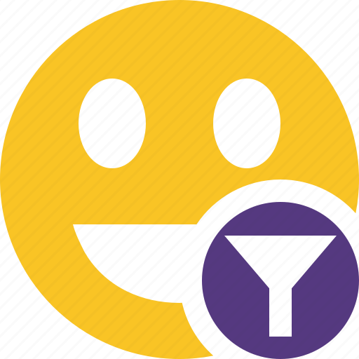 emoticon, emotion, face, filter, laugh, smile icon