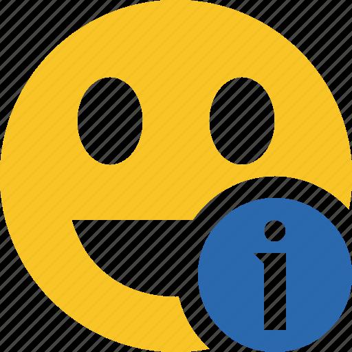 Emoticon, emotion, face, information, laugh, smile icon - Download on Iconfinder
