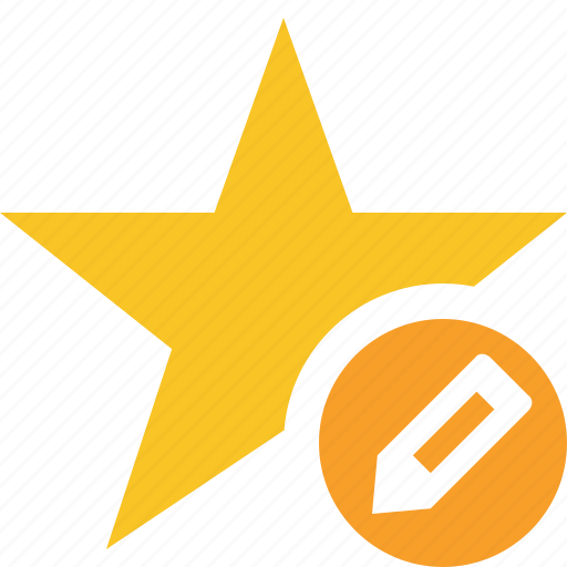 achievement, bookmark, edit, favorite, rating, star icon