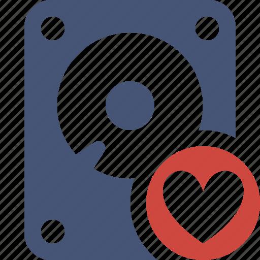 data, disk, drive, favorites, hard, hdd, storage icon