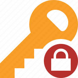 key, lock, password, protect, secure, security icon