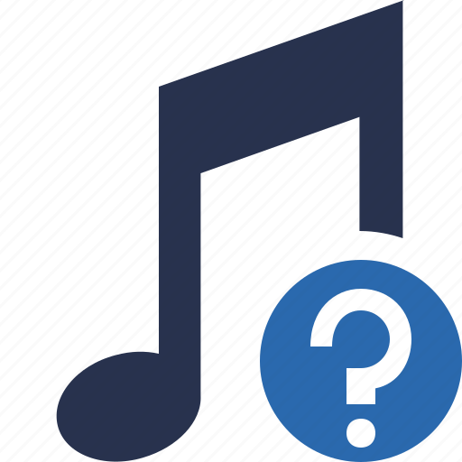 audio, help, multimedia, music, note, sound icon