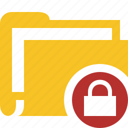 category, documents, file, folder, lock icon