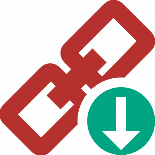 chain, connection, download, link, url, web icon