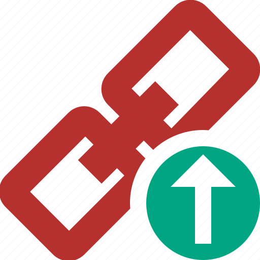 chain, connection, link, upload, url, web icon