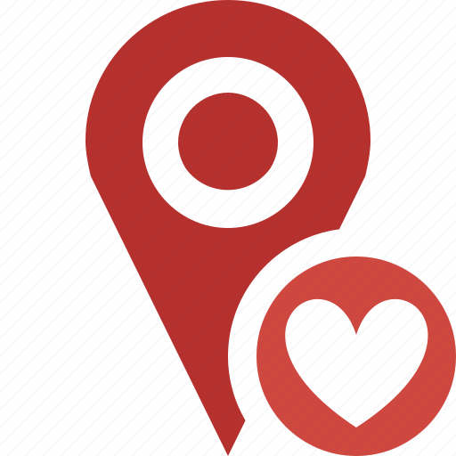 favorites, gps, location, map, marker, navigation, pin icon
