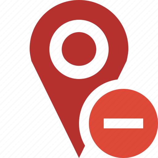 gps, location, map, marker, navigation, pin, stop icon
