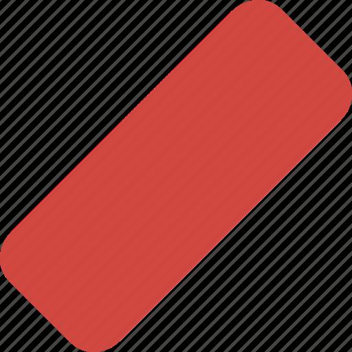 clean, delete, erase, eraser, remove, rubber icon