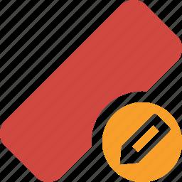 clean, delete, edit, erase, eraser, remove, rubber icon