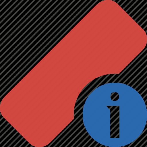 clean, delete, erase, eraser, information, remove, rubber icon