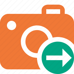 camera, next, photo, photocamera, photography, picture, snapshot icon