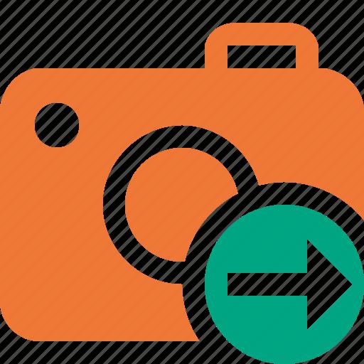 camera, next, photo, photocamera, photography, picture, snapshot icon