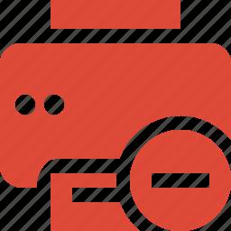document, paper, print, printer, printing, stop icon