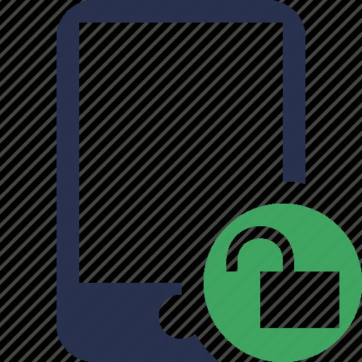 device, iphone, mobile, phone, smartphone, unlock icon