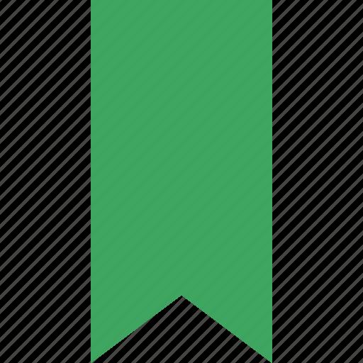 book, bookmark, favorite, green, tag icon