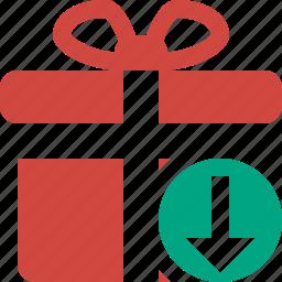 box, christmas, download, gift, present, xmas icon