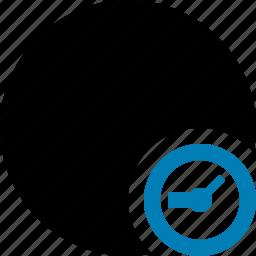 clock, marker, object, pin, point, shape icon