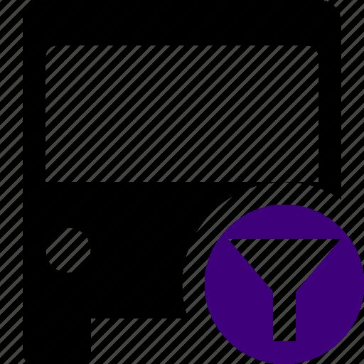 bus, filter, public, transport, transportation, travel, vehicle icon