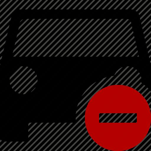 auto, car, stop, traffic, transport, vehicle icon