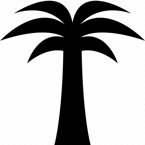 palmtree, travel, tree, tropical, vacation icon