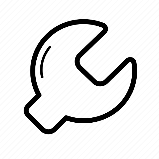 hand, key, setting icon