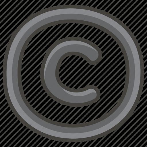 00a9, copyright icon