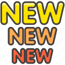 b, new, 1f195 icon