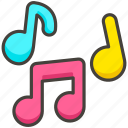 1f3b6, b, musical, notes icon