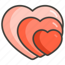 1f497, growing, heart icon