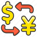 1f4b1, currency, exchange icon