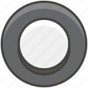1f518, button, radio