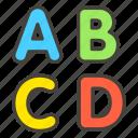 1f520, a, input, latin, uppercase icon