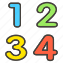 1f522, a, input, numbers icon