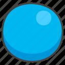1f535, blue, circle icon