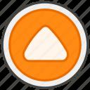 1f53c, b, button, upwards icon