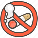 1f6ad, no, smoking icon