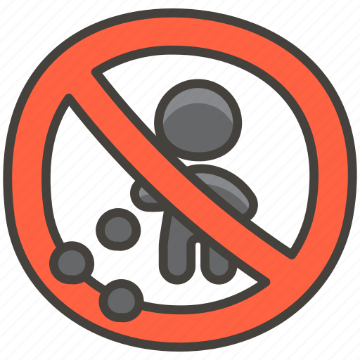 1f6af, littering, no icon